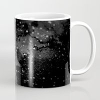 outer space Mugs featuring Outer Space by kris kang