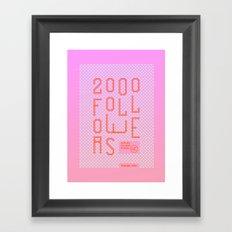 2000 Framed Art Print