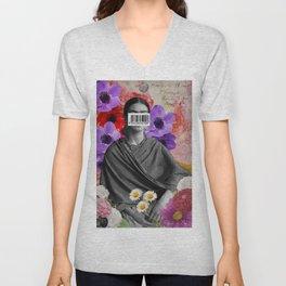 Public Figures Collection -- Frida by Elo Unisex V-Neck