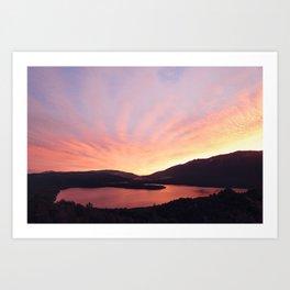 Lake Rotoiti Art Print