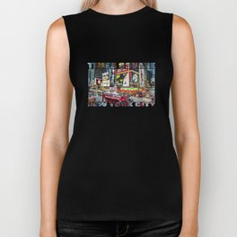 Times Square II Biker Tank