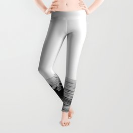 The dinghy and the boat Leggings