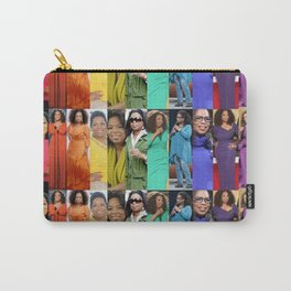 Oprah Spectrum collage Carry-All Pouch