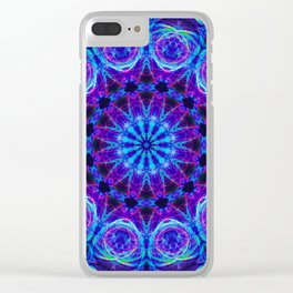 Bioluminescence Clear iPhone Case