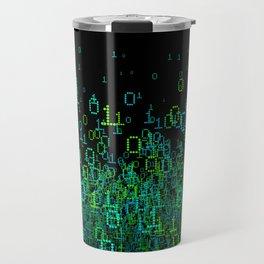 Binary Cloud Travel Mug
