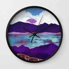 Dark Sea Wall Clock