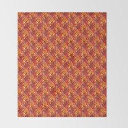 Groovy Flowers Throw Blanket