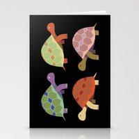turtles Stationery Cards featuring Turtles by TypicalArtGuy