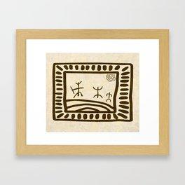 Ethnic 3 Canary Islands Framed Art Print