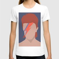 bowie T-shirts featuring Bowie by Zoebellsmith
