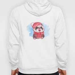 Winter ferret Hoody