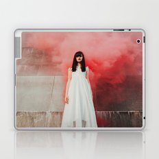 Red smoke Laptop & iPad Skin