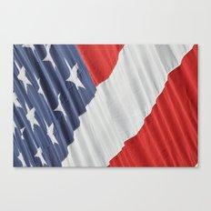 9/11 Flag  Canvas Print
