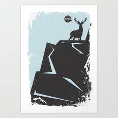 Soon, My Deer, Very Soon. Art Print
