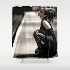 Gothic Ninja Shower Curtain