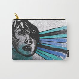 Facial Expressions Carry-All Pouch