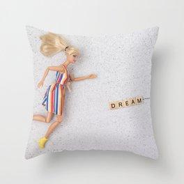 Chasing A Dream Throw Pillow