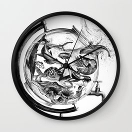 The Spill Wall Clock