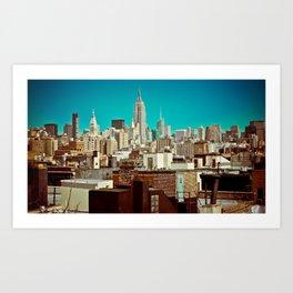 This Was Midtown Manhattan Art Print