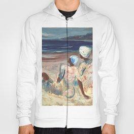 On the Beach by Victor Laredo Hoody