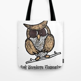 Oak Meadows Owls - Comicesque Tote Bag