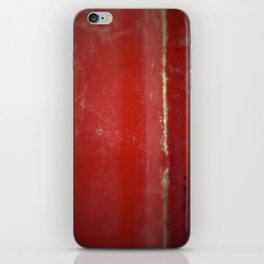 Red Plate iPhone Skin