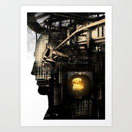 On the Run Art Print
