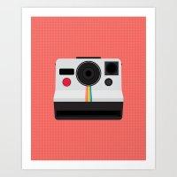 Polaroid One Step Land Camera Art Print