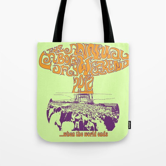 When the World Ends Tote Bag