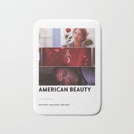 American Beauty Bath Mat