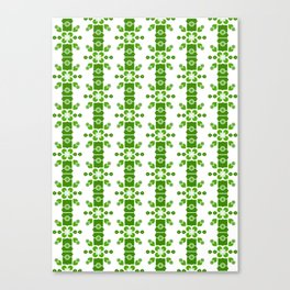 Bamboo forest – green Canvas Print