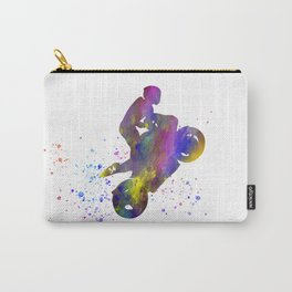 Moto GP in watercolor Carry-All Pouch