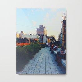 The High Line Sunset Metal Print