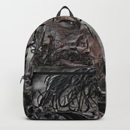 Rick Grimes Artistic Illustration Rough Style Backpack