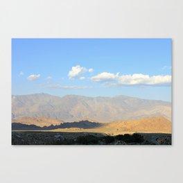 DESERT MIRROR Canvas Print