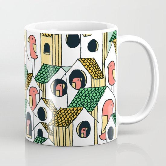 Bird houses Mug