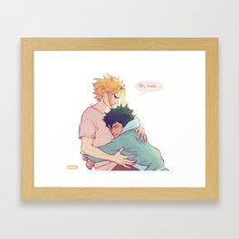 Oh kiddo Framed Art Print