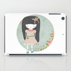 Sad girl iPad Case