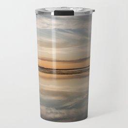 Baltic sea and sunset Travel Mug