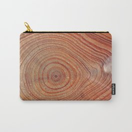 Wooden Rings Carry-All Pouch