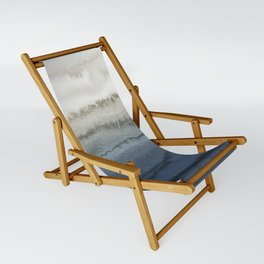 WITHIN THE TIDES - CRUSHING WAVES BLUE Sling Chair