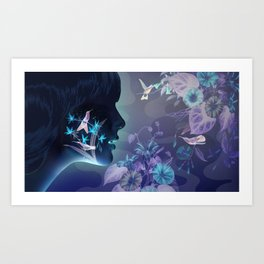 Midnight in the Garden of Good and Evil Art Print