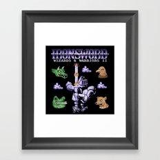 SwordIron Framed Art Print