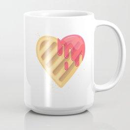 Tasty cookies in the shape of heart Coffee Mug