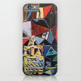 A roughly vectorised and reworked Picasso iPhone Case
