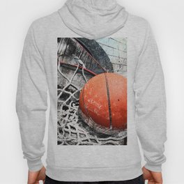 Modern Basketball Art 8 Hoody