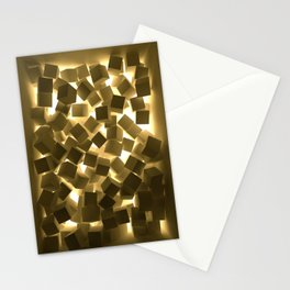 3D What Burns in Your Box? Stationery Cards