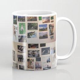 Postcard Wall Spaced Coffee Mug