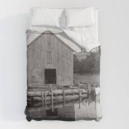 Old Fish House Comforters