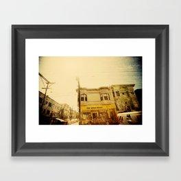 The Apartment Framed Art Print